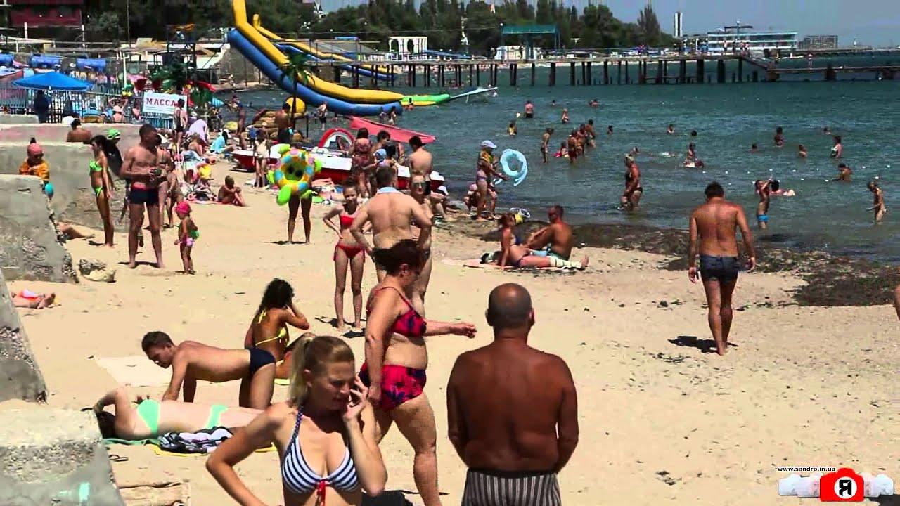 Фото нудистского пляжа в евпатории