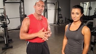 Best Arm Workout with bodybuilder/ Mr. America Doug Brignole and the Beautiful Savannah Neveux