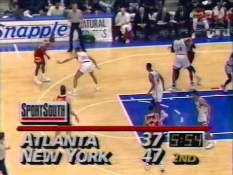 Dominique Wilkins - Highlights vs Knicks (1993)