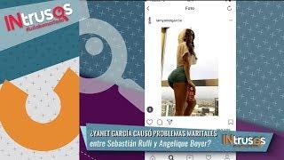 ¿Angelique Boyer celosa de Yanet García? | Intrusos | Nu9ve