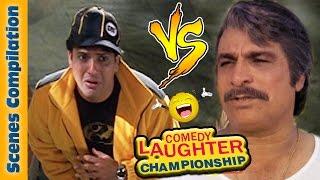 Govinda Comedy Scenes - Kader Khan Comedy Scenes - 4 - Comedy Laughter Championship - Indian Comedy