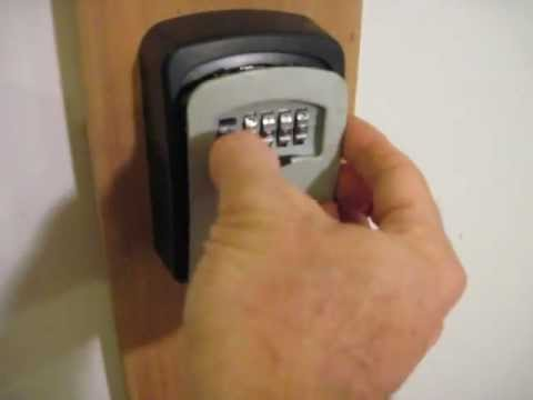 Master Lock 5401D Key Box: How to Reset the Combination