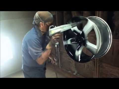 Powder Coating Rims 2