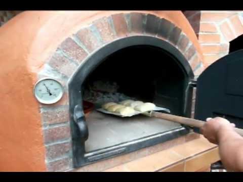 Primer encendido del horno youtube - Materiales para hacer un horno de lena ...