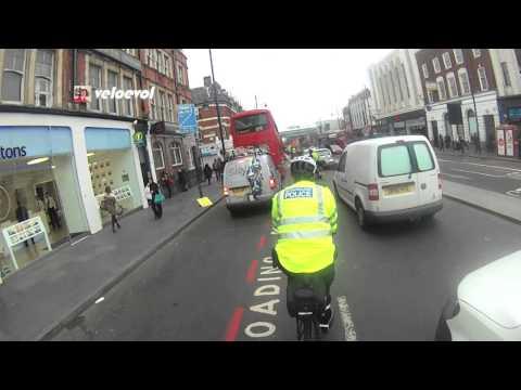 London Metropolitan Police Cyclist