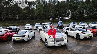 Shatta Wales Luxurious Car Collection