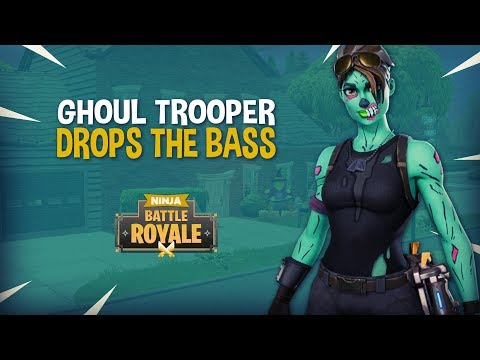 Ghoul Trooper Drops The Bass!! - Fortnite Battle Royale Gameplay - Ninja