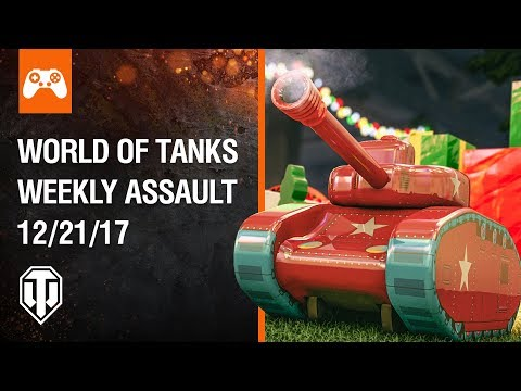 Console: World of Tanks Weekly Assault #34