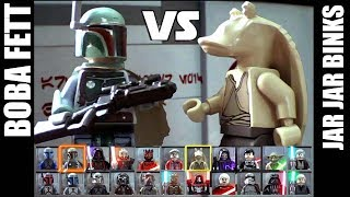 LEGO Star Wars - Boba Fett vs Jar Jar Binks