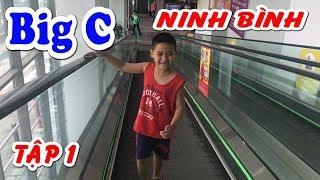 Bé Dương chơi các trò chơi tại siêu thị Big C Ninh Bình - Tập 1❤ Kênh Em Bé