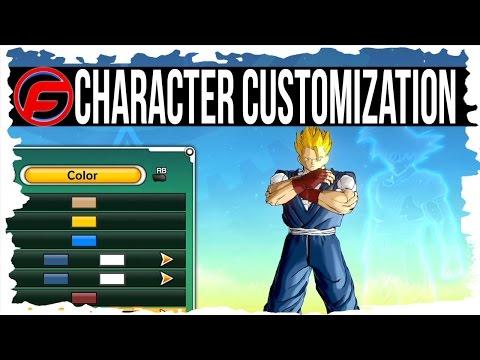 Dragon ball xenoverse character customization saiyan majin earthling