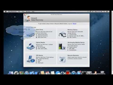 How to Recover Deleted Files on Mac with Kvisoft Data Recovery Mac