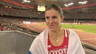WCH 2015 Beijing - Zuzana Hejnova CZE  400m Hurdles Final Gold