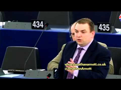Political antagonism in the European Parliament - Points of Order by Jonathan Arnott MEP