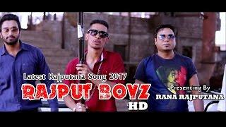 New Rajputana Song 2017- Rana Boyz | Prince Rana | RANA RAJPUTANA