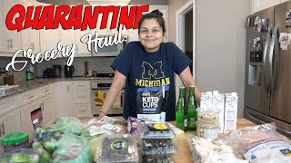 Keto Quarantine Grocery Haul! Our Staple Foods