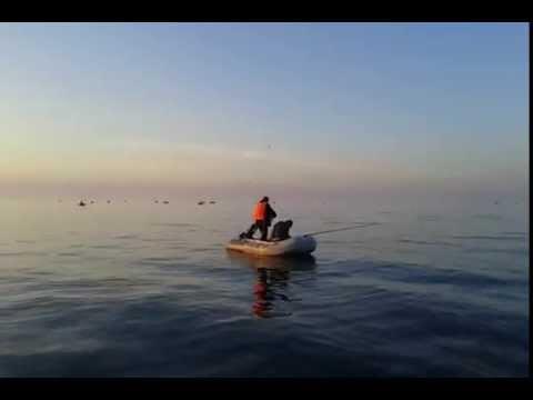 рыбалка на своей лодке на байкале