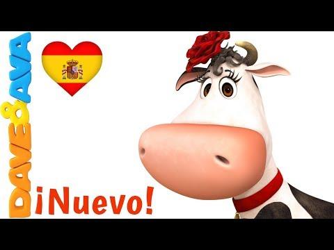 ❤️ La Vaca Lola   Canciones Infantiles en Español de Dave y Ava ❤️