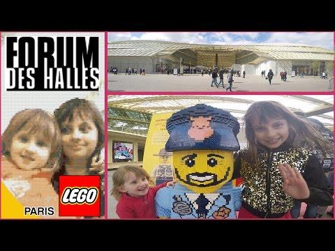 [VLOG] Nouveaux Forum des Halles et Lego Store - Studio Bubble Tea shopping