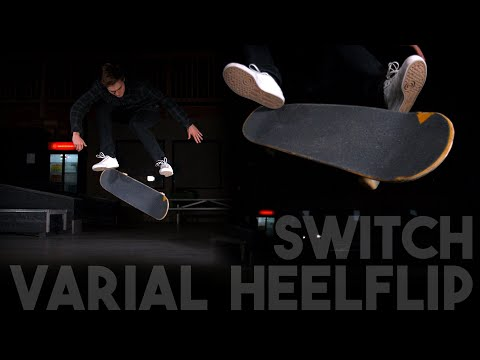 How Switch Varial Heelflip Works - Physics of Skateboarding 4