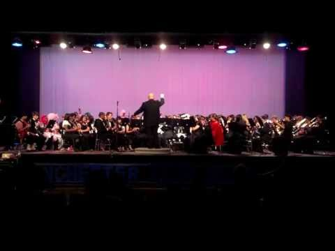 Manchester High School Band 2013 Spring Concert - James Bond Theme