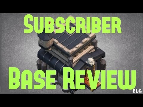 Clash of Clans Base Review Best Farming Base And Best Defensive Base Town Hall 9