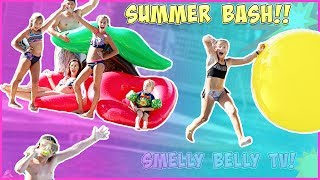 SmellyBelly TV SUMMER BASH!! WHAT HAPPENED TO JAYLA?!