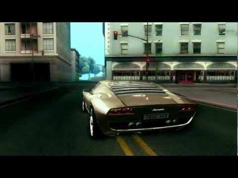 GTA SA :: Lamborghini Miura Concept