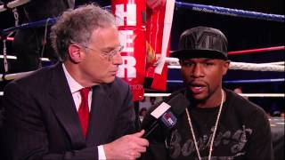 "Mayweather on Maidana ""This is a Guy I Can't Overlook"" - ShoBox Interview"