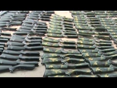 Bình Dương: Phát hiện gần 400 khẩu súng săn trong ôtô