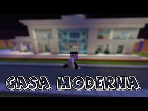 Construindo uma Casa Moderna no Minecraft
