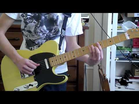 Thrice-Daedalus guitar cover