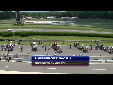 AMA Pro Motorcycle-Superstore.com SuperSport FULL Race 1 (HD) - Barber Motorsports Park - 2013