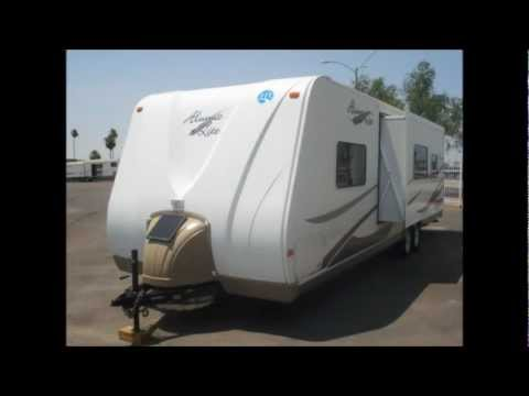 2007 Holiday Rambler Alumilite Trailer | Arizona RV Consignment Specialists | Used Travel Trailers