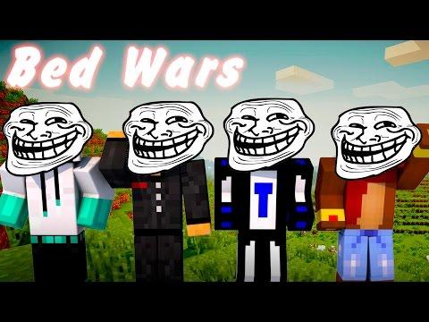 Minecraft Bed wars : Четыре троля #102