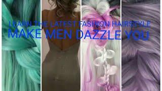 KACK LATEST FASHION HAIRSTYLE MAKE MEN DAZZLE