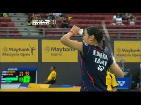 QF - WS - Saina Nehwal vs Nozomi Okuhara - 2013 Maybank Malaysia Open