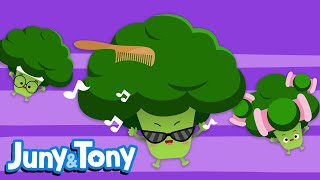 Broccoli Song | Fruit&Veggie Song for Kids | Preschool Songs | KizCastle