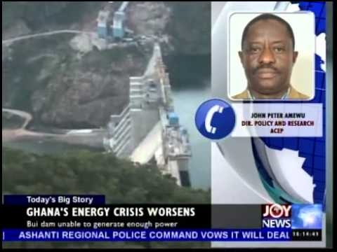 Ghana Energy Crisis Worsens - Today's Big Story (3-6-14)