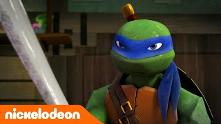 Teenage Mutant Ninja Turtles | Eerste gevecht | Nickelodeon Nederlands