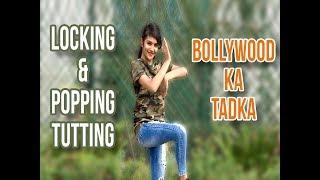 Download Shreya Reddy's Locking & Popping, Tutting Dance on Silsila Yeh Chahat Ka (Remix) 3Gp Mp4