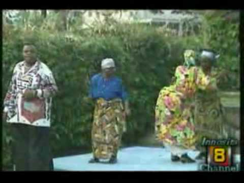 African Memories:Congo-Zaïre Music, Pépé Kallé dancing  Original Rumba with his Mother
