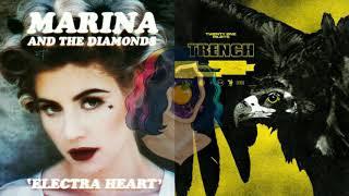 Bubblegum bitch/Morph- Marina and the diamonds x Twenty one pilots(Mixed mashup)