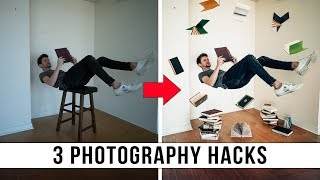 How to Take a Levitation Photo • 3 Camera Hacks To Improve Your Photography!