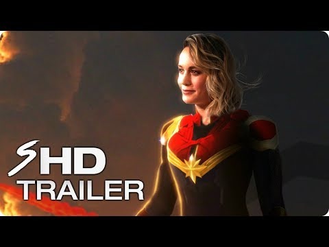 CAPTAIN MARVEL (2019) First Look Trailer Concept - Brie Larson Marvel Movie HD