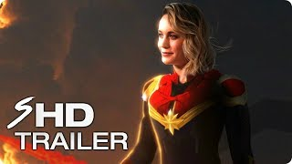 CAPTAIN MARVEL 2019 First Look Trailer Concept  Br