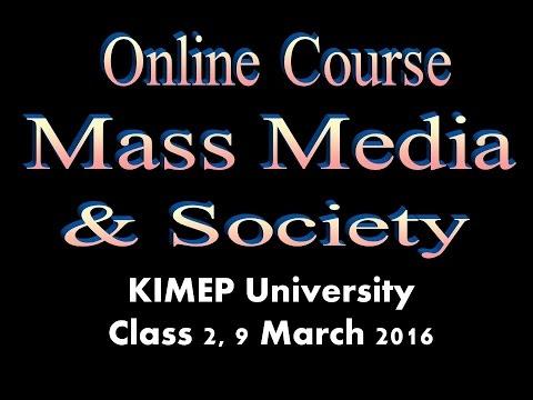 KNU Media & Society Class 2