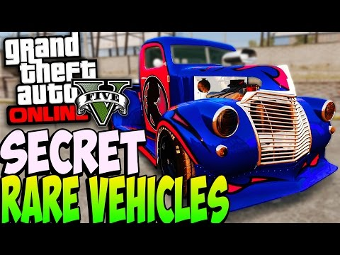 GTA 5 SECRET RARE CARS ONLINE After Patch 1.22 - Secret Rare Vehicles ...