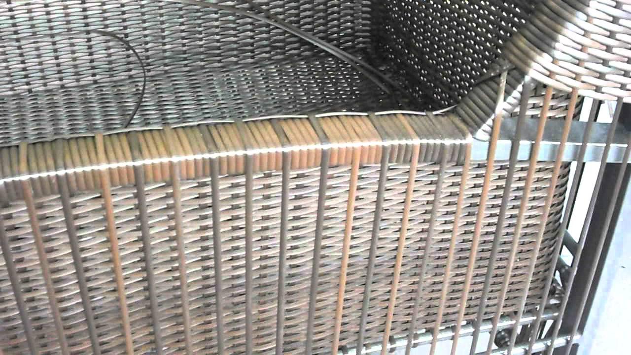 Muebles en ratan sintetico youtube - Muebles de bambu y mimbre ...