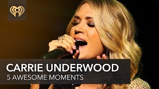 Download Lagu 5 Times Carrie Underwood Shocked Us By Being Awesome   Fast Facts Gratis STAFABAND